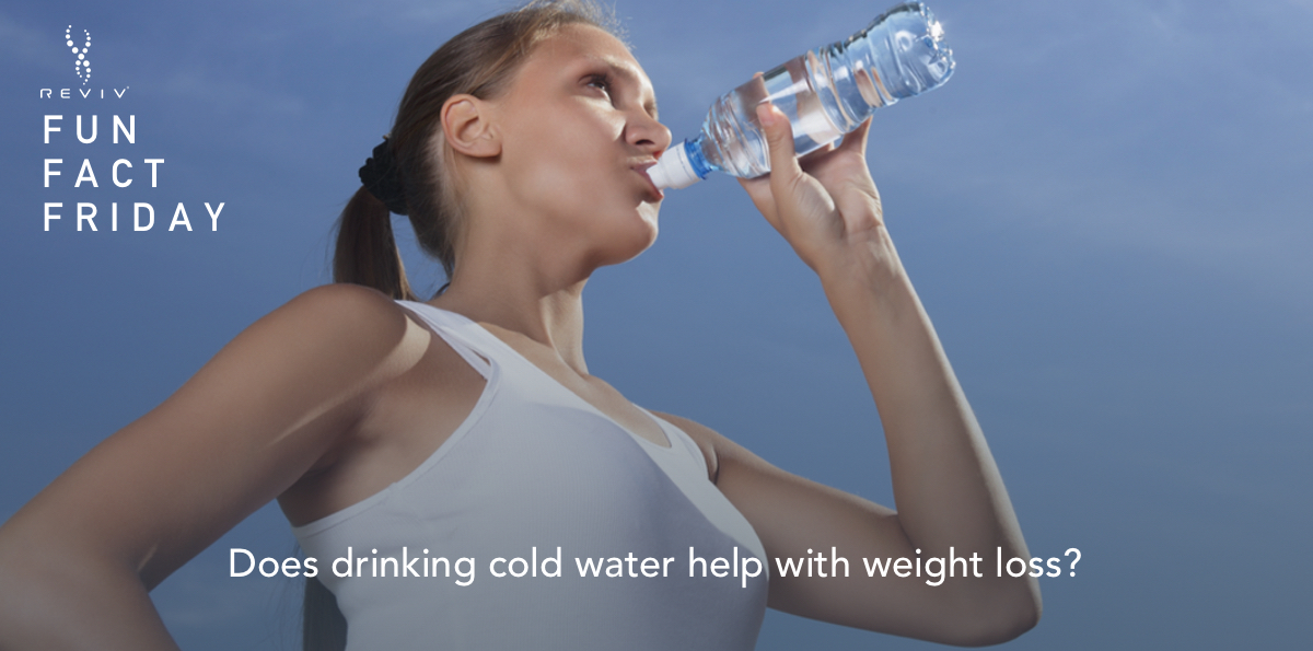 Does drinking cold water help with weight loss?