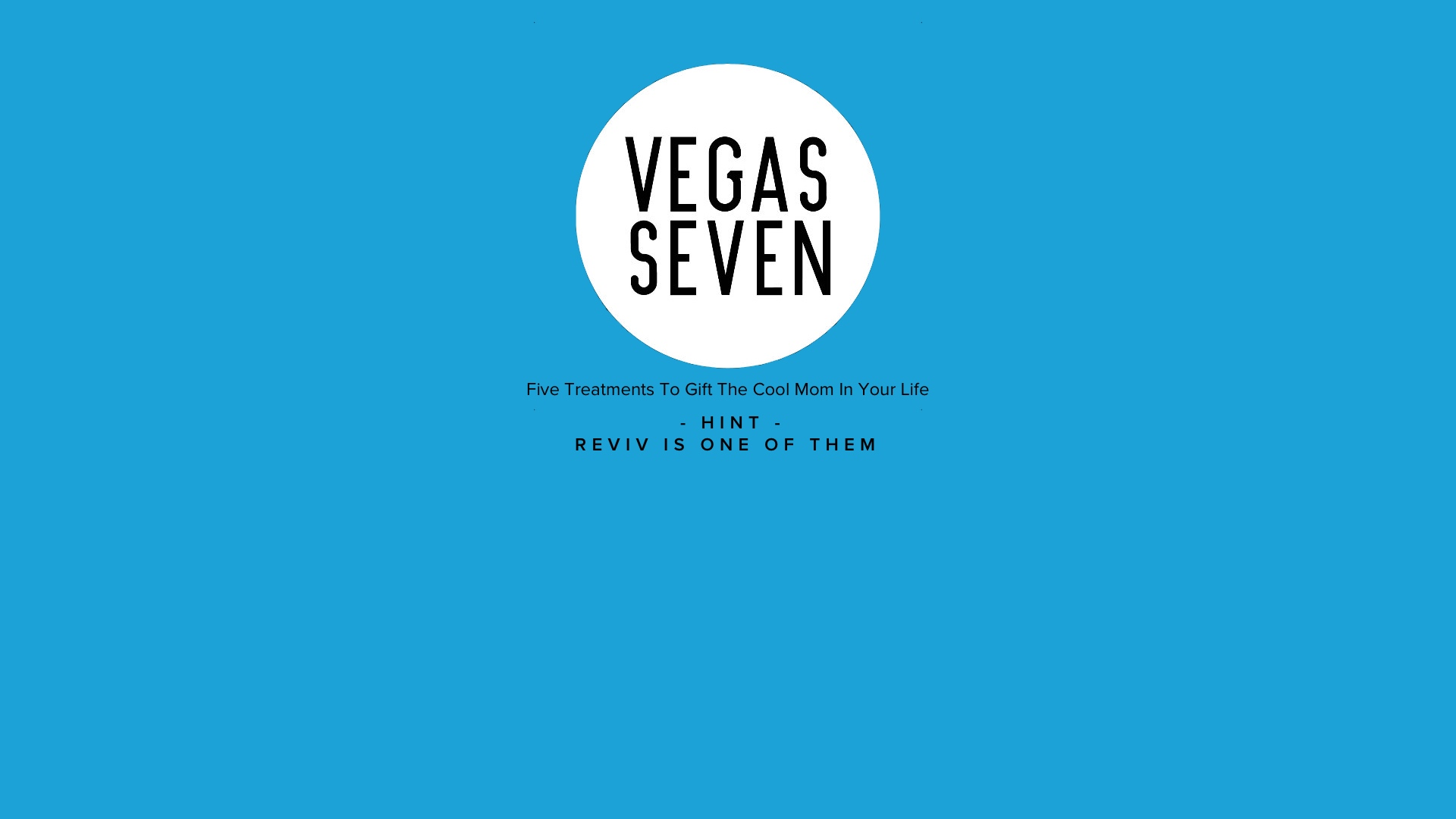 Cool Gift Ideas For Mother's Day From Vegas Seven