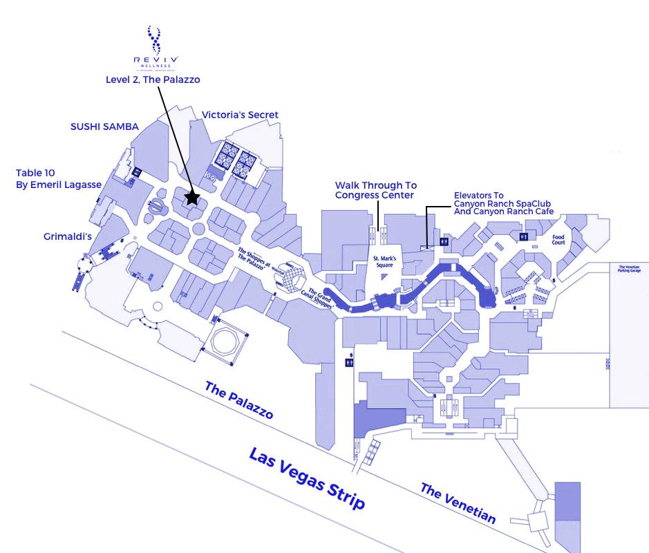 Las Vegas Venetian Palazzo Reviv Iv Hangover Therapy B12 Glutathione